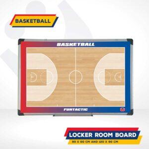 locker room board basketball